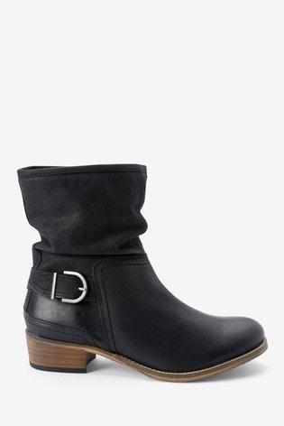 Black Forever Comfort® Ankle Boots