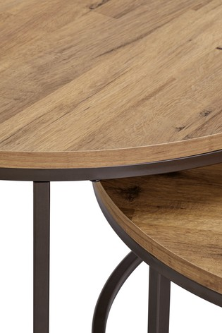Buy Bronx Coffee Nest Of 2 Tables from the Next UK online shop