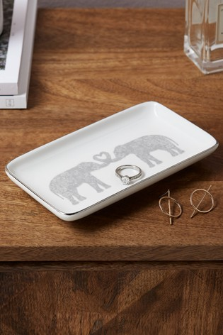 Elephant Trinket Dish