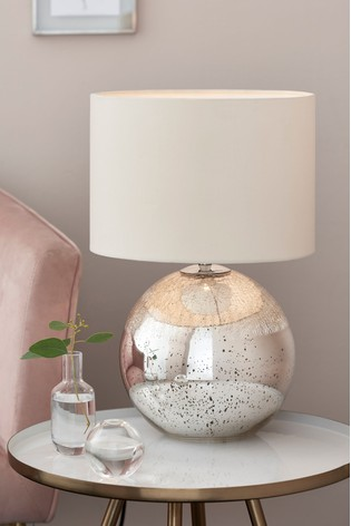 Crackle Table Lamp