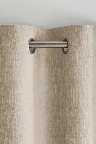 Heavyweight Chenille Eyelet Lined Curtains