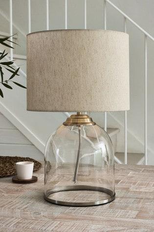 Freja Table Lamp Base Clear Glass