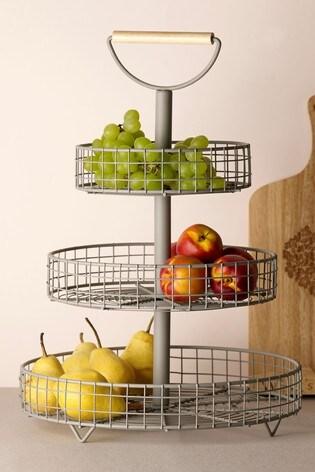 Malvern 3 Tier Fruit & Veg Storage