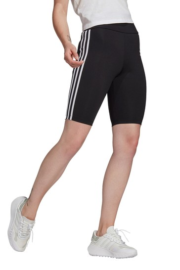 adidas Originals Black High Waisted Shorts