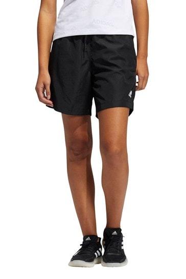 adidas Woven High Waisted Long Shorts