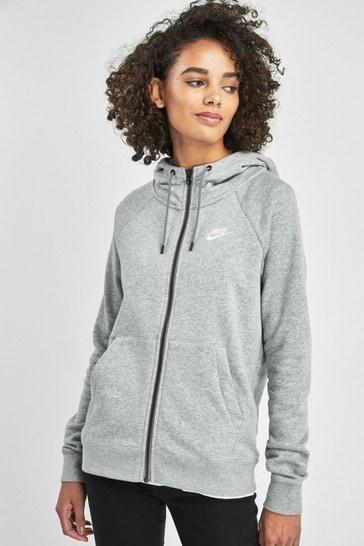 Nike Essential Fleece Zip Through Hoodie