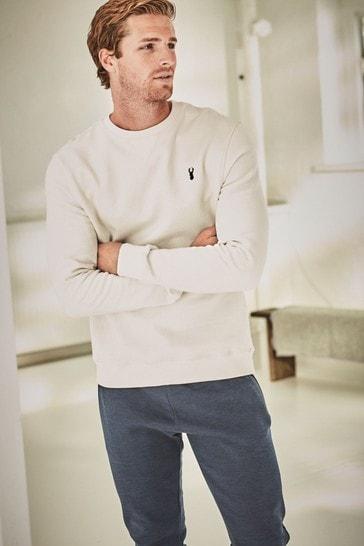 Ecru Crew Sweatshirt