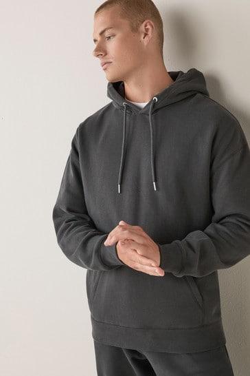 Slate Grey Overhead Hoody Loungewear