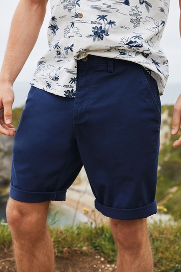 Dark Blue Chino Mr Blue Sky Organic Cotton Shorts