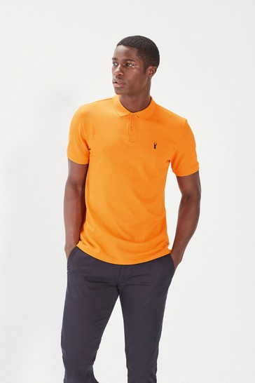 Amber Regular Fit Pique Polo Shirt