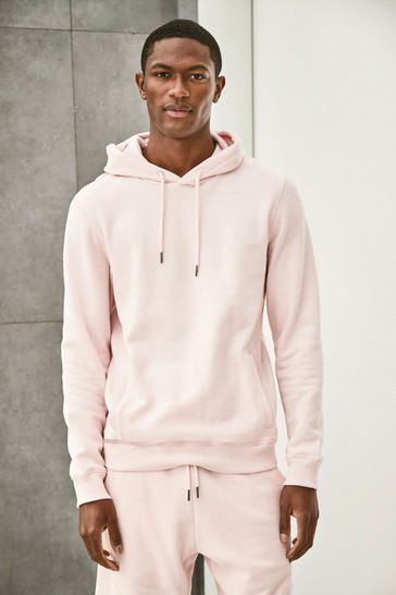 Pink Overhead Hoodie Jersey