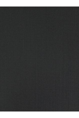 Black Regular Fit Signature Tollegno Fabric Suit: Trousers