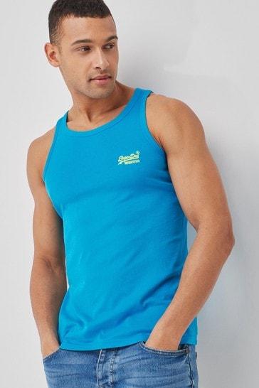 Superdry Organic Cotton Neon Lite Vest