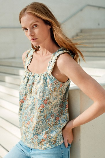 Morris & Co. at Next Gold Lily Linen Cami
