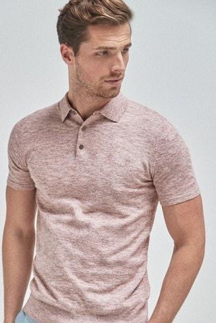 Pink Premium Polo Shirt