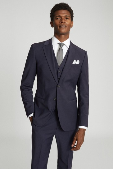 REISS Hope Modern Fit Travel Suit: Jacket