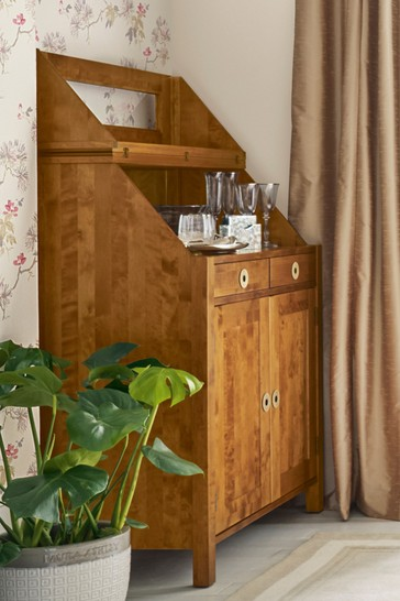 Balmoral Honey 2 Door 3 Drawer Bureau by Laura Ashley