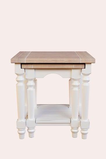 Dorset White Nest Of Tables