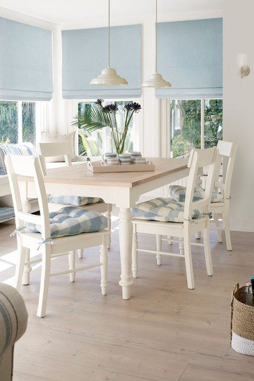 Dorset White Fixed Dining Table