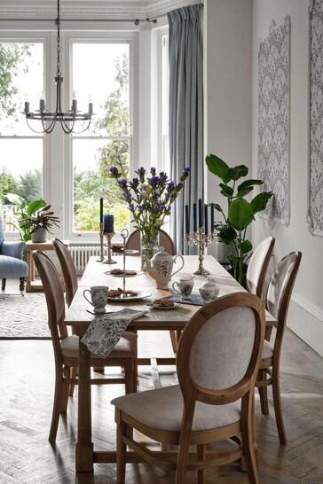 Wellington Oak Extending Dining Table by Laura Ashley