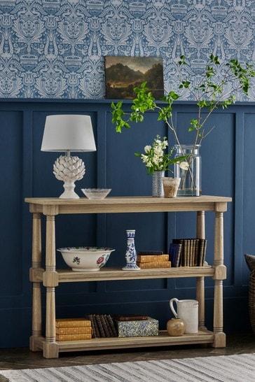 Wellington Oak Low Bookcase by Laura Ashley
