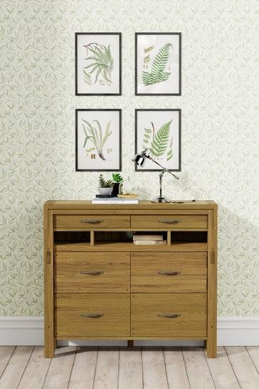 Milton Oak Bureau by Laura Ashley