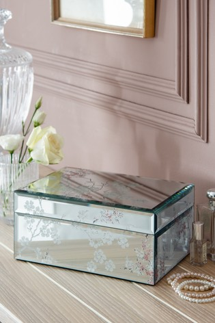 Oriental Blossom Large Jewellery Box