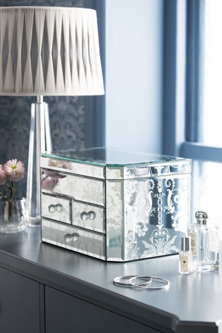 Laura Ashley Josette Mirror Jewellery Box