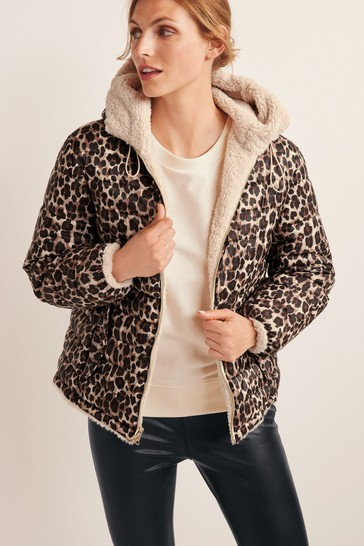 Animal Reversible Teddy Dupont Jacket