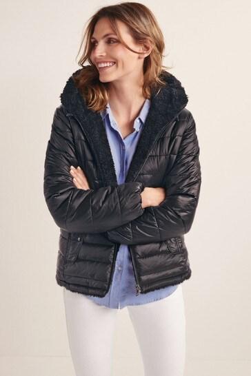 Black Teddy Reversible Teddy Dupont Jacket
