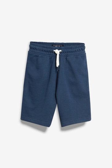 Blue Jersey Shorts (3-16yrs)