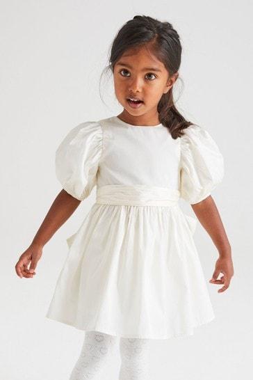 Ivory Taffeta Bridesmaid Dress (3mths-8yrs)