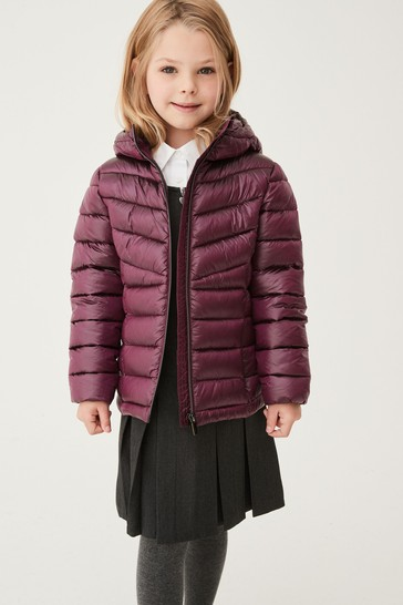Berry Shower Resistant Padded Jacket (3-16yrs)