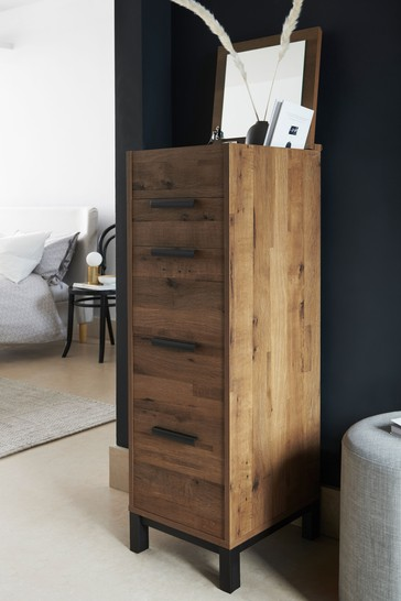 Bronx Tall Chest With Mirror