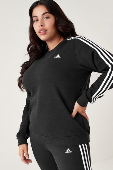 adidas Curve 3 Stripe Sweatshirt