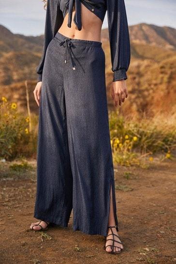 Navy Savannah Miller Trousers