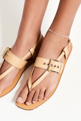 Gold Tone Fiera Anklet
