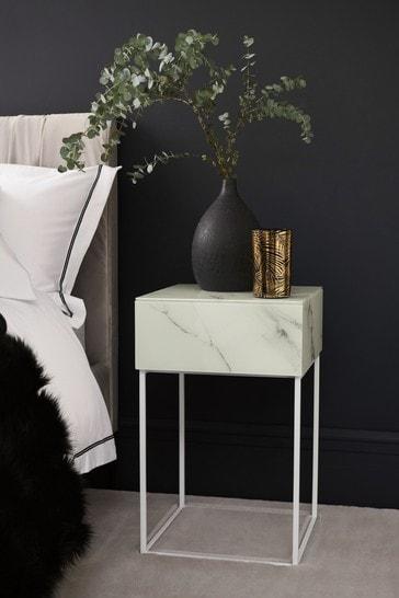 Sloane 1 Drawer Bedside Table
