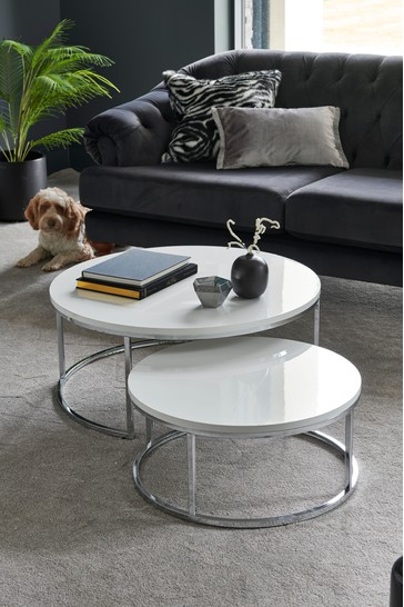 Mode Coffee Nest Of 2 Tables