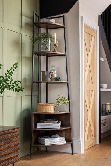 Elmir Corner Ladder Shelf
