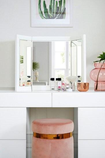 Sloane Glass Dressing Table Mirror