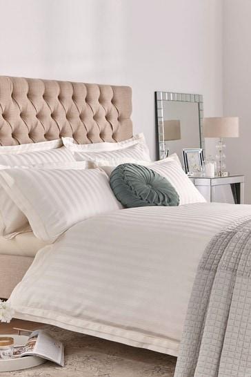 Cream Shalford Duvet Cover And Pillowcase Set