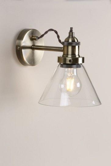 Brass Isaac Wall Light