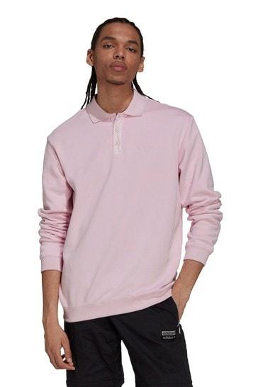 adidas Originals RYV Long Sleeve Polo Shirt