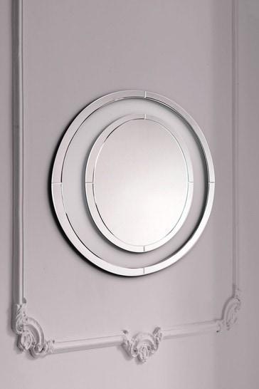 Evie Large Round Mirror