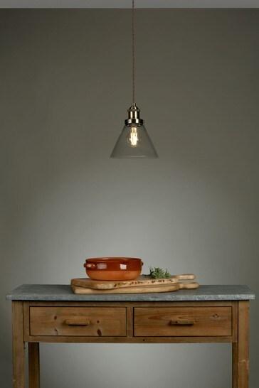 Brass Isaac Pendant Ceiling Light