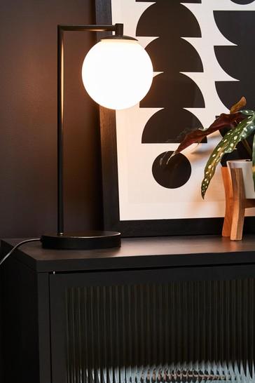 Black Pasadena Table Lamp