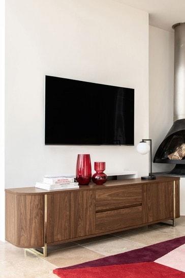 Arden Walnut Effect Superwide TV Stand