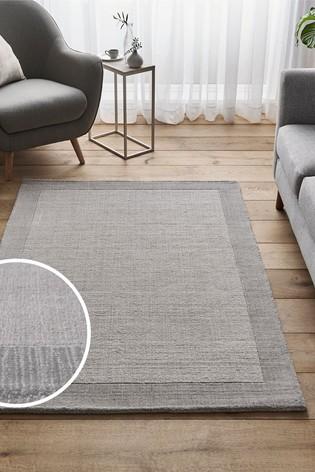 Pebble Grey Darcy Wool Rug