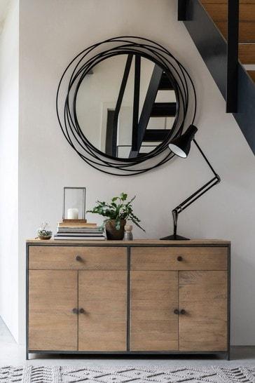 Hendrick Pine 4 Door Sideboard
